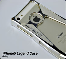 Metal iPhone case Legend