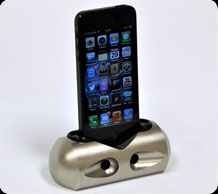 Aluminum iPhone Docking Station