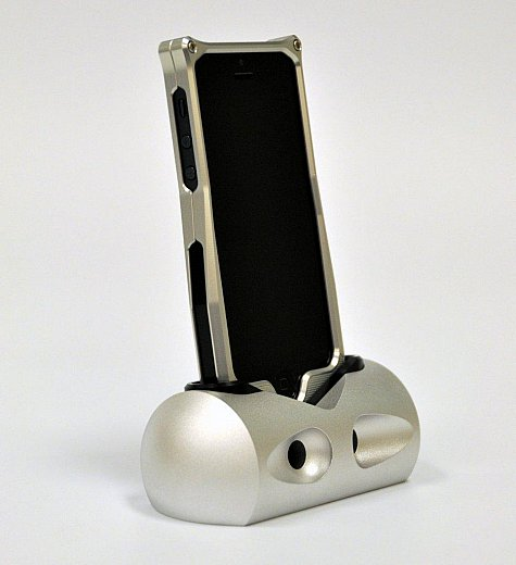 meemojo photo gallery aluminum iphone 5 iphone 4 4s docking station. Black Bedroom Furniture Sets. Home Design Ideas